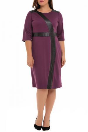Платье Svesta. Цвет: сливовый