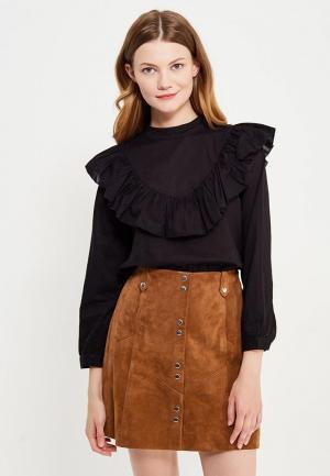 Блуза Only. Цвет: черный