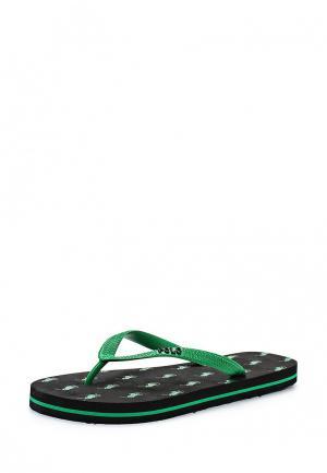 Сланцы Polo Ralph Lauren. Цвет: зеленый