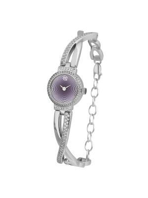 Часы ювелирные коллекция Q-Chic, QWILL, Часовой завод Ника QWILL. Цвет: розовый
