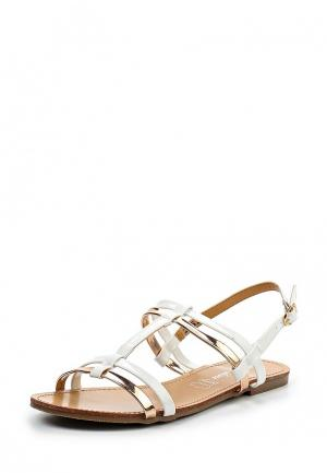 Сандалии Style Shoes. Цвет: белый