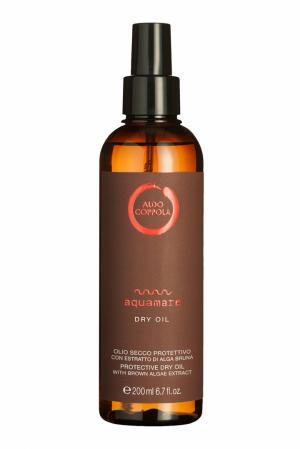 Солнцезащитное сухое масло для волос Aquamare Protective Dry Oil, 200ml Aldo Coppola. Цвет: multicolor