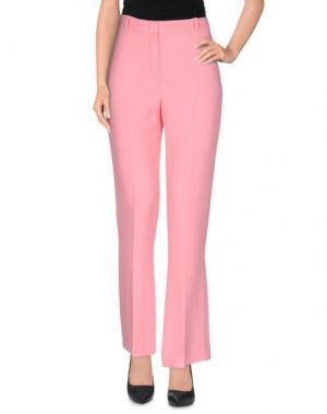 Повседневные брюки CAPUCCI. Цвет: светло-фиолетовый