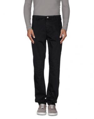 Повседневные брюки DNM-BRAND. Цвет: черный