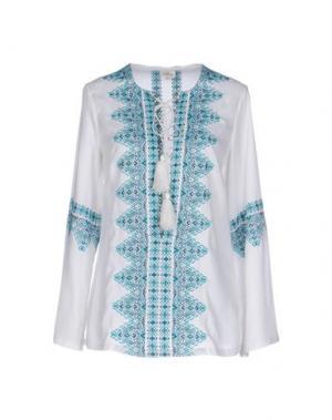 Блузка TALITHA. Цвет: белый