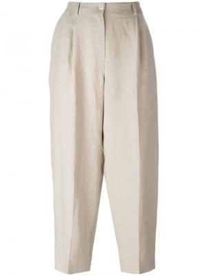 Укороченные брюки Nehera. Цвет: телесный