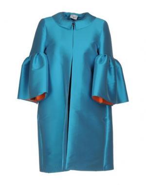 Легкое пальто LEITMOTIV. Цвет: бирюзовый