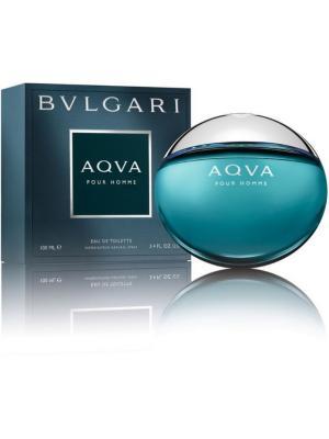 Туалетная вода Bvlgari Aqva Pour Homme 100 мл спрей. Цвет: прозрачный