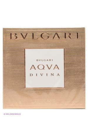 Уалетная вода AQVA DIVINAТ, 40 мл BVLGARI. Цвет: золотистый