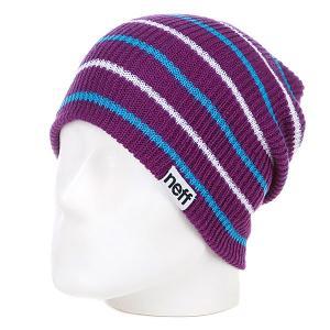 Шапка носок  Daily Multistripe Purple Neff. Цвет: фиолетовый