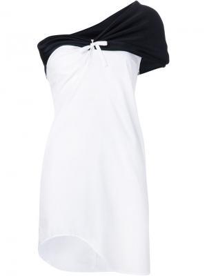 Платье La robe astraite Jacquemus. Цвет: белый