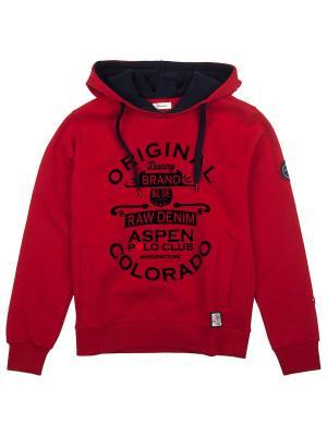 Худи Aspen Polo Club. Цвет: красный