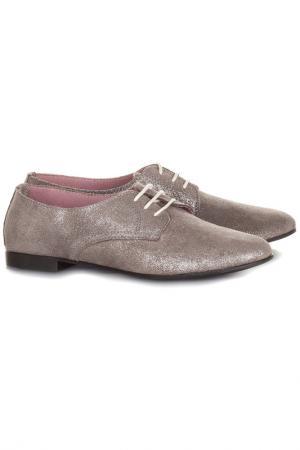 Ботинки EVA LOPEZ. Цвет: серый