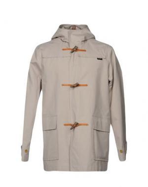 Легкое пальто GLOVERALL. Цвет: бежевый