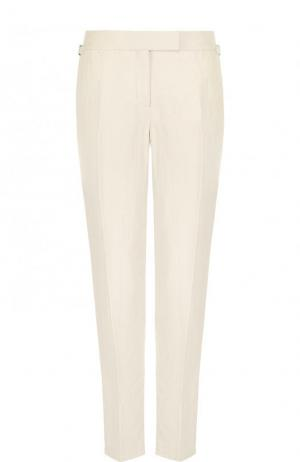 Однотонные брюки со стрелками Tom Ford. Цвет: бежевый