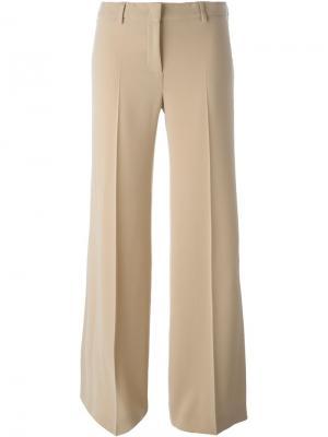 Широкие брюки Alberto Biani. Цвет: телесный