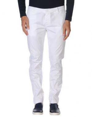 Повседневные брюки STILOSOPHY INDUSTRY. Цвет: белый