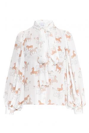 Блуза 157785 Lola By Lolita Shonidi. Цвет: разноцветный