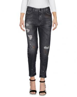 Джинсовые брюки NINE:INTHE:MORNING. Цвет: стальной серый