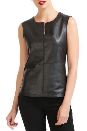 Блуза Isaco & Kawa. Цвет: черный