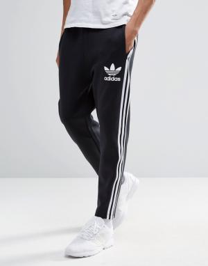 Adidas Originals Джоггеры длиной 7/8 Adicolour B10722. Цвет: черный