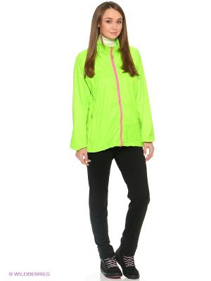 Куртка Neon Mac in a sac. Цвет: зеленый