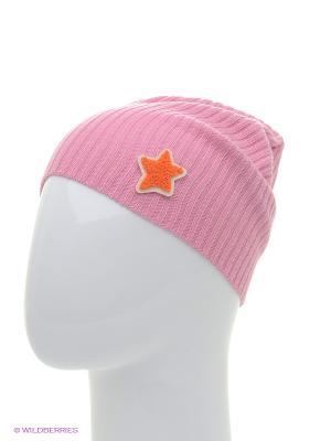 Шапка ELFRIO. Цвет: розовый