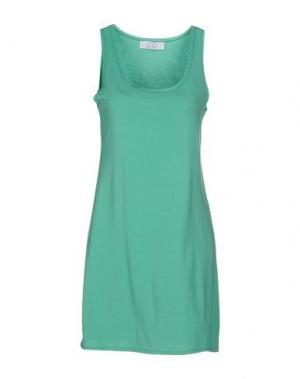 Короткое платье KAOS. Цвет: светло-зеленый