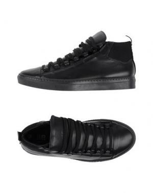 Высокие кеды и кроссовки IMB I'M BRIAN. Цвет: черный