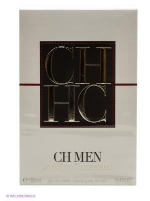 Carolina Herrera Ch Men М Товар Туалетная вода 100 мл. Цвет: прозрачный