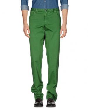 Повседневные брюки MORRIS. Цвет: зеленый