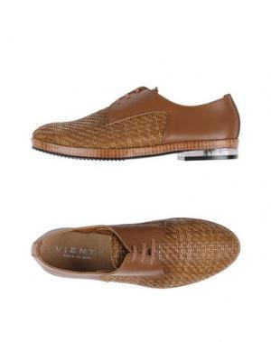 Обувь на шнурках VIENTY. Цвет: коричневый
