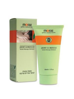 Травяной массажный крем для мышц и суставов Joint & Muscle Moraz. Цвет: белый