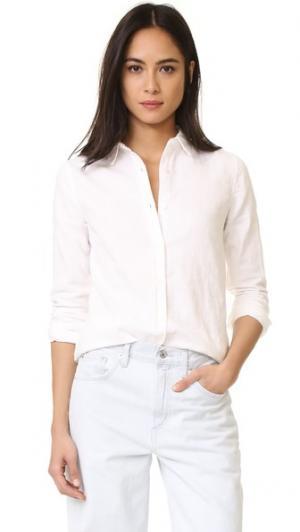Классическая рубашка Mila Baldwin Denim. Цвет: белый