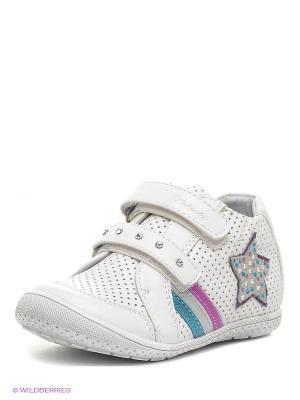 Ботинки Kakadu. Цвет: белый