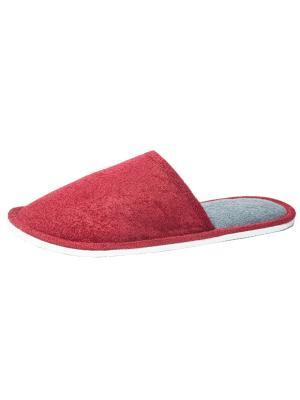 Тапочки Castlelady. Цвет: серый, бордовый, красный