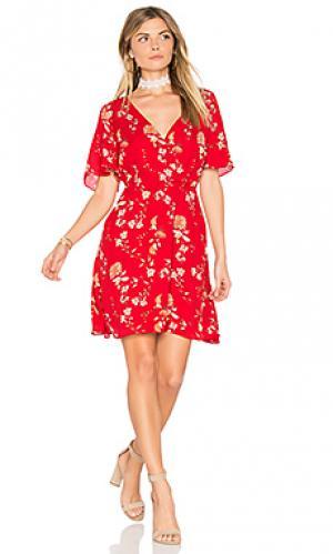 Мини платье laselle BB Dakota. Цвет: красный