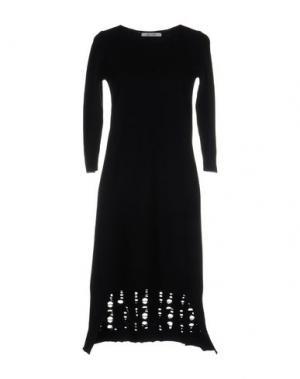 Короткое платье OBLIQUE CREATIONS. Цвет: темно-синий