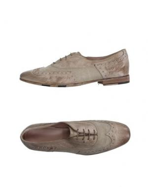 Обувь на шнурках CORVARI. Цвет: голубиный серый