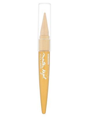 Кремовый карандаш для внутреннего века Master Kajal, золотой, 1,5 мл Maybelline New York. Цвет: золотистый