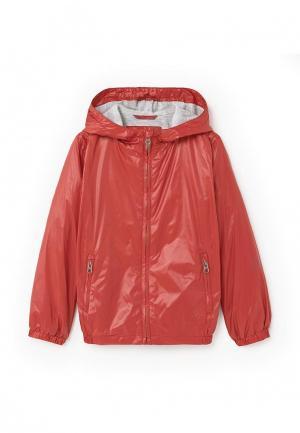 Куртка Mango Kids. Цвет: красный