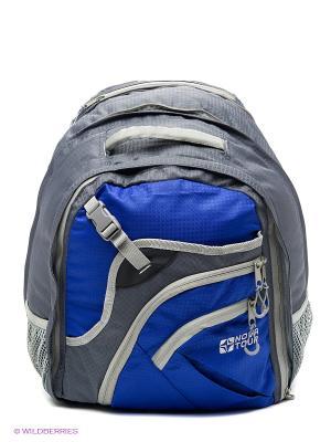 Рюкзак Трэвел 35 V2 Nova tour. Цвет: серый, синий