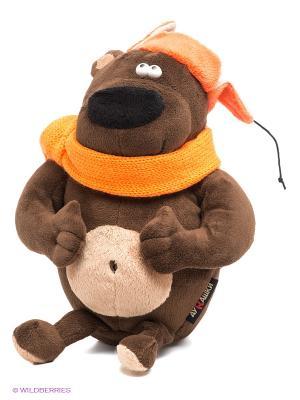 Мягкая игрушка Просто Medved MAXITOYS. Цвет: коричневый