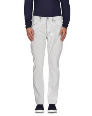 Джинсовые брюки (M) MAMUUT DENIM. Цвет: синий