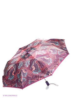 Зонт Eleganzza. Цвет: фиолетовый, бирюзовый