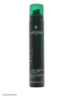 Растительный лак для волос с натуральным экстрактом горчицы, 100 мл Rene Furterer. Цвет: прозрачный