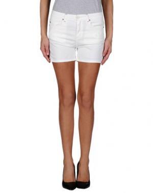 Повседневные шорты SOALLURE. Цвет: белый