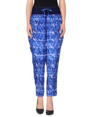 Повседневные брюки PURE. Цвет: синий