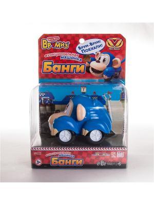 Игрушка Врумиз функциональная машинка Банги. Цвет: синий