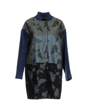 Легкое пальто HANITA. Цвет: серый